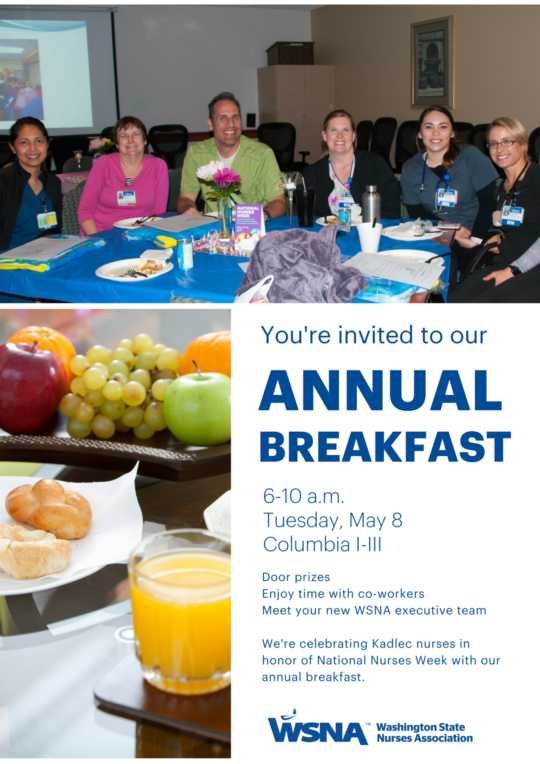 Kadlec 2018 Annual Breakfast