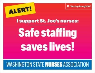 Safe Staffing Saves Lives SJMC
