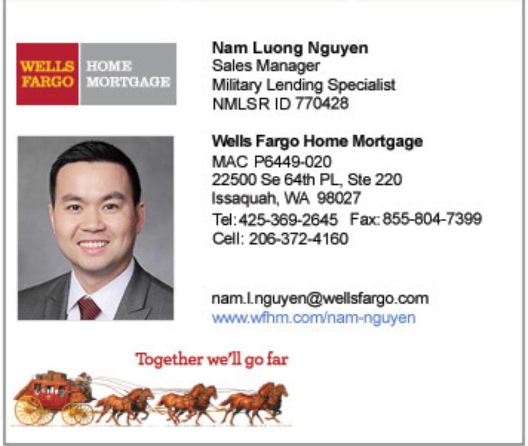 Wellsfargo Nam Luong Nguyen