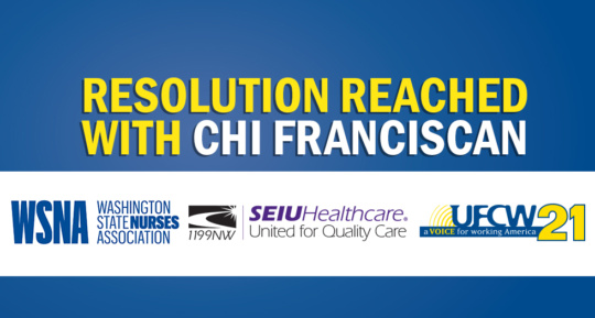 Unions reach resolution with CHI Franciscan