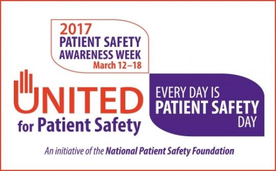Patient Safety Week Logo