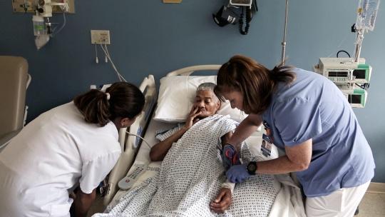 Nina With Nurses